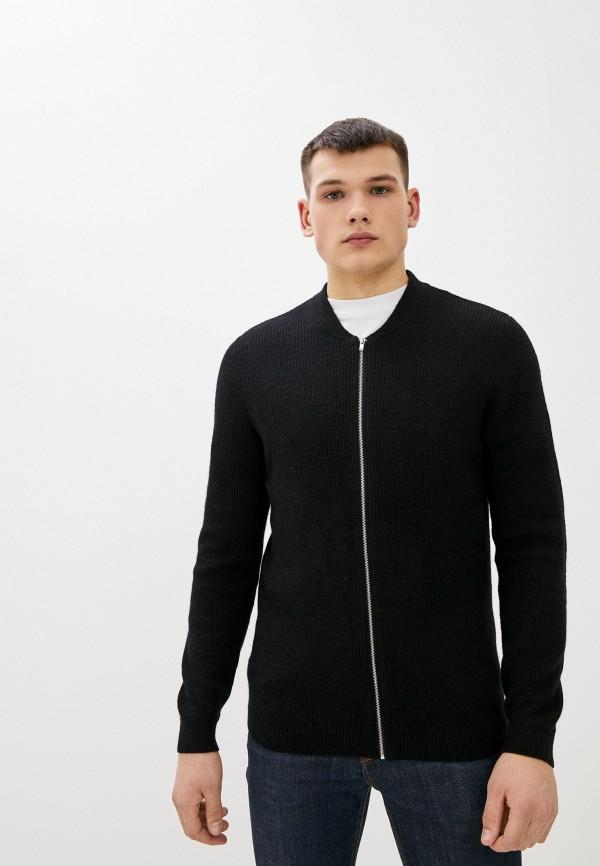 мужской кардиган nines collection, черный