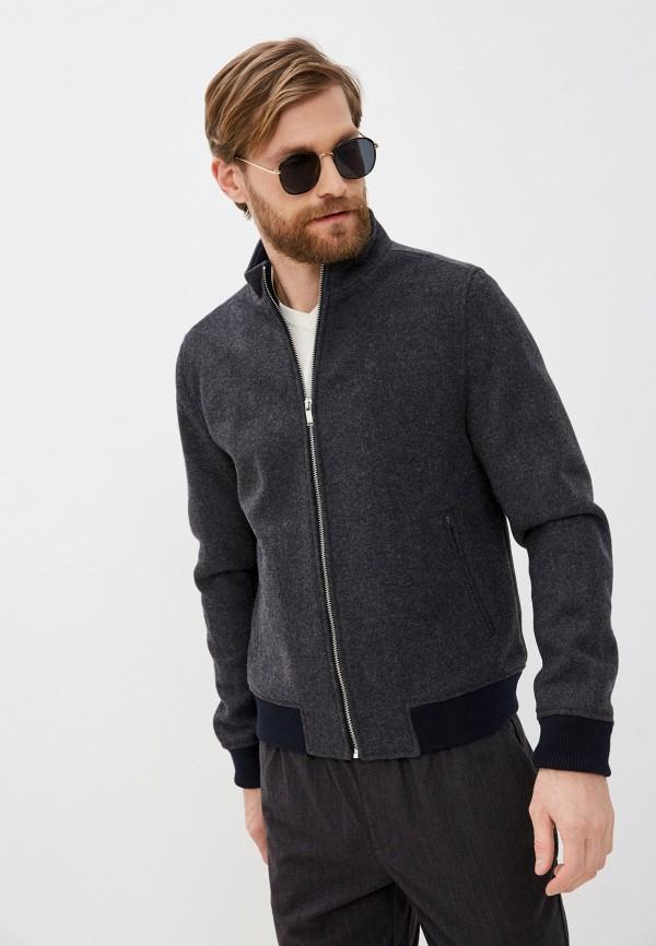 мужская куртка nines collection, серая