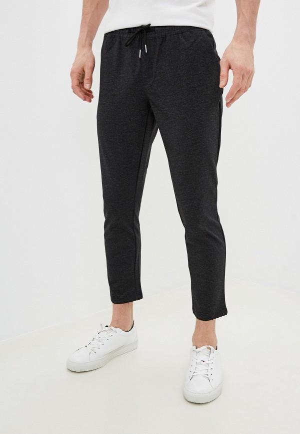 мужские брюки nines collection, серые