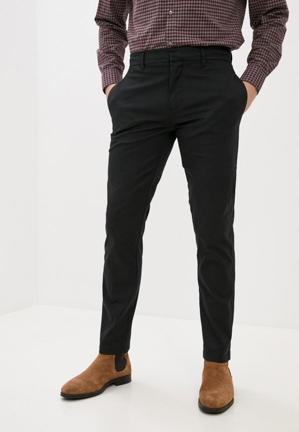 мужские брюки чинос nines collection, черные