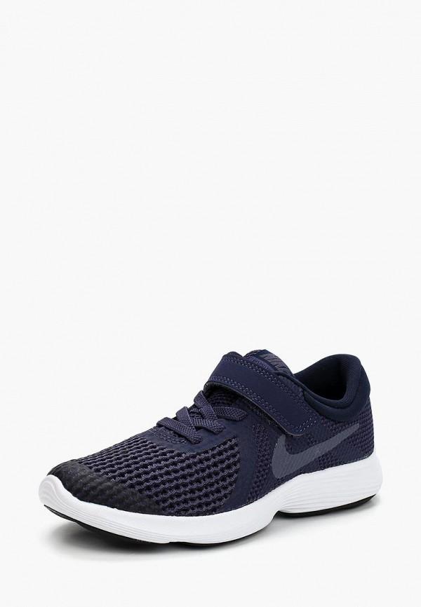 Фото - Кроссовки Nike синего цвета