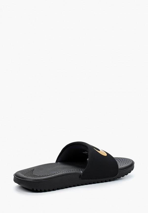 Фото 3 - Сланцы Nike черного цвета