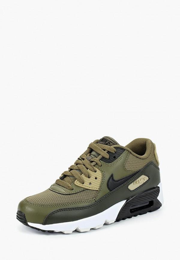 Купить Кроссовки Nike, Boys' Nike Air Max 90 Mesh (GS) Shoe, ni464abbyna8, хаки, Осень-зима 2018/2019
