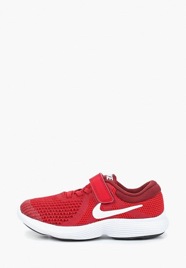 кроссовки nike для мальчика, красные