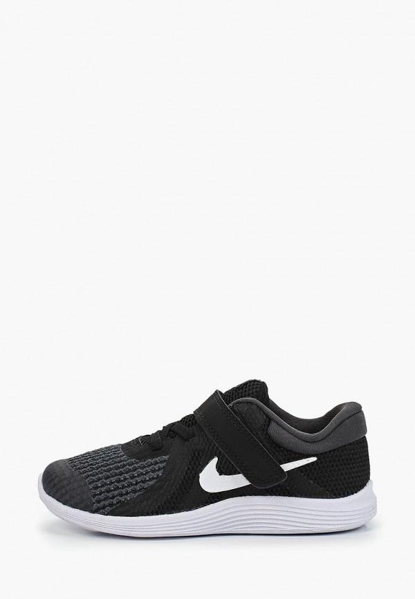 Купить Кроссовки Nike, NIKE REVOLUTION 4 (TDV), ni464abdsks5, черный, Весна-лето 2019