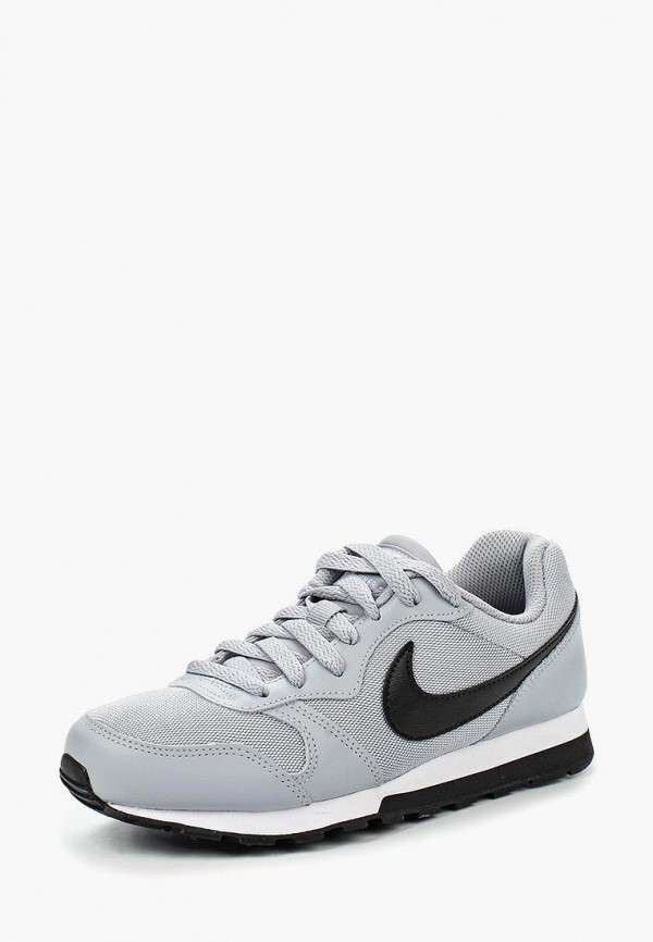 Фото - Кроссовки Nike серого цвета