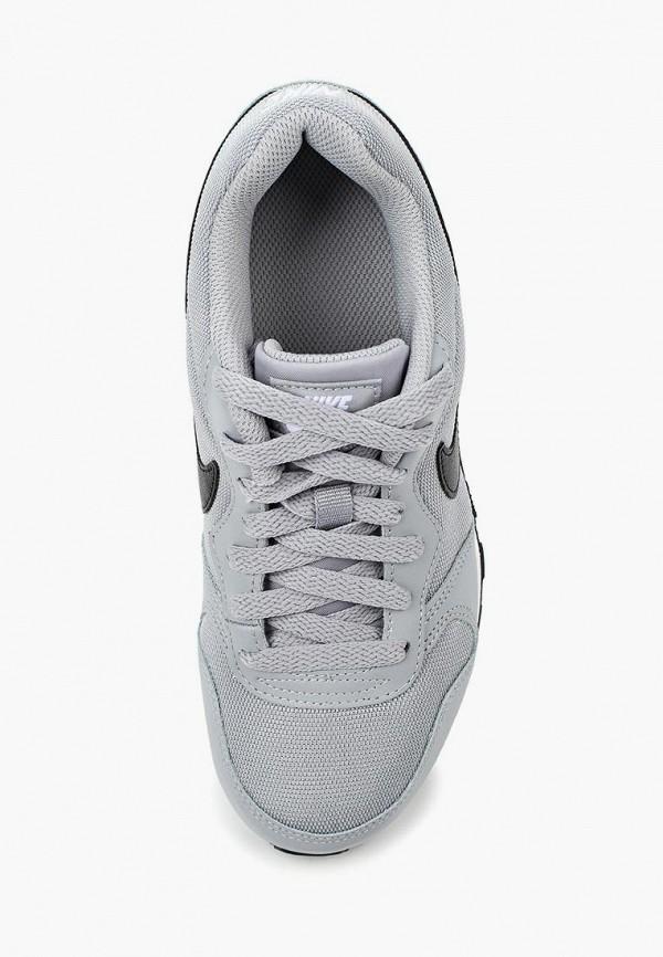 Фото 4 - Кроссовки Nike серого цвета