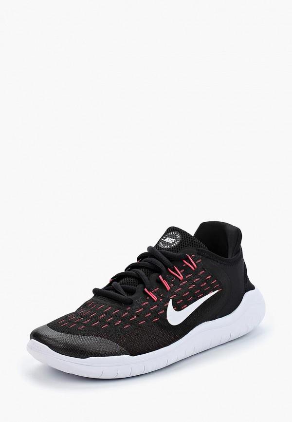 Купить Кроссовки Nike, Nike Free RN 2018 Girls' Running Shoe (3.5y-7y), ni464agbdqs3, черный, Весна-лето 2018