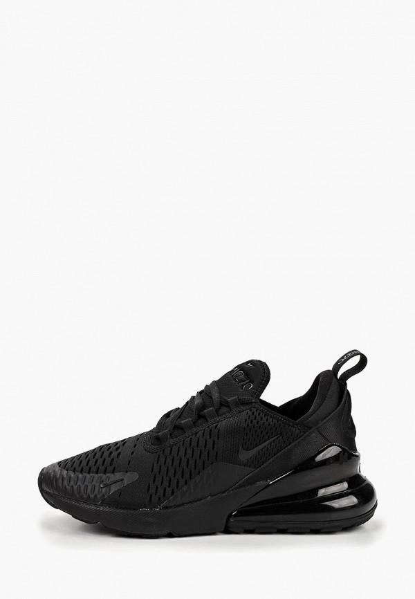 кроссовки nike для девочки, черные