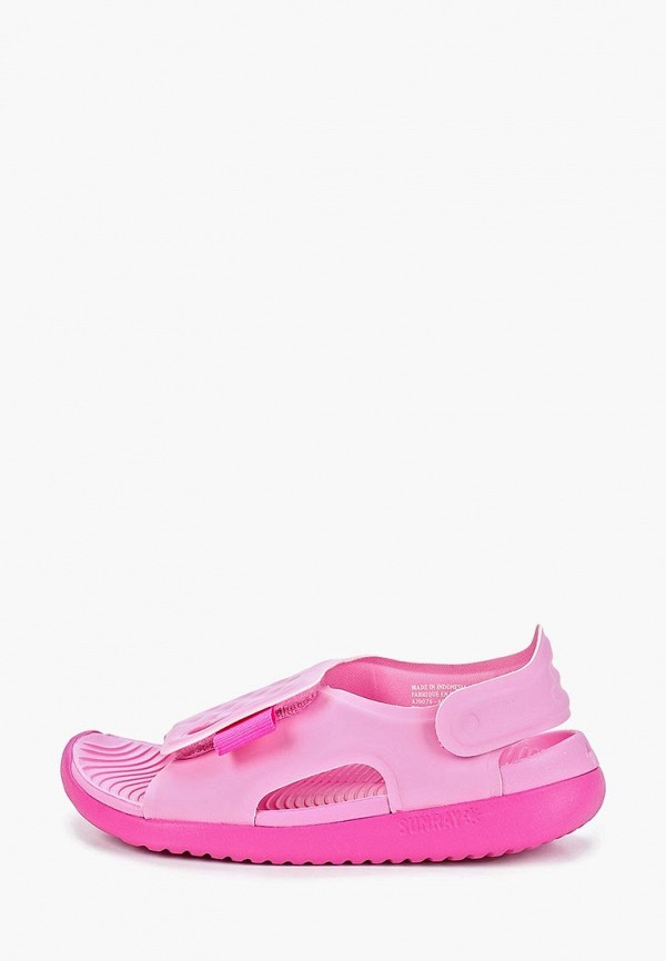 сандалии nike для девочки, розовые
