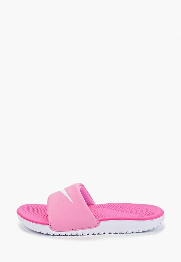 сабо nike для девочки, розовое
