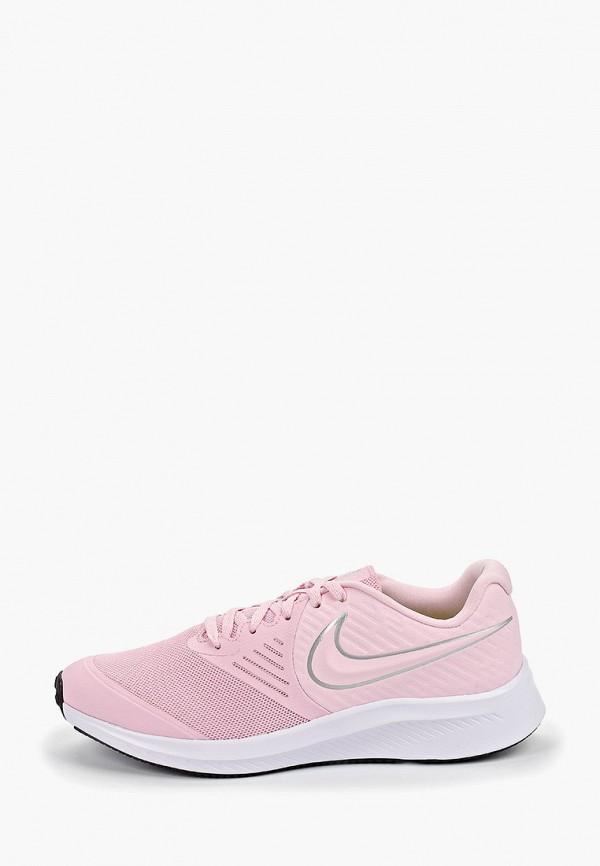 кроссовки nike для девочки, розовые