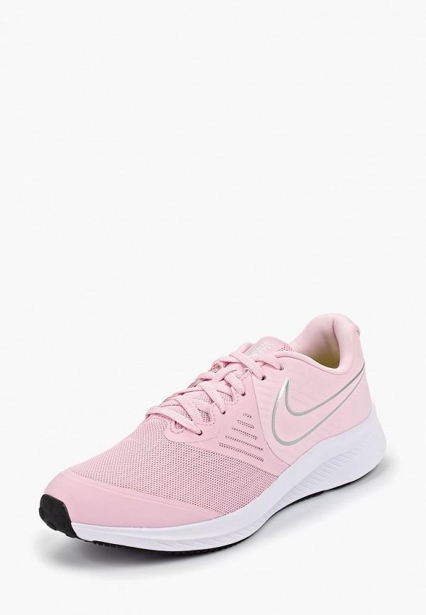 Фото 2 - Кроссовки Nike розового цвета