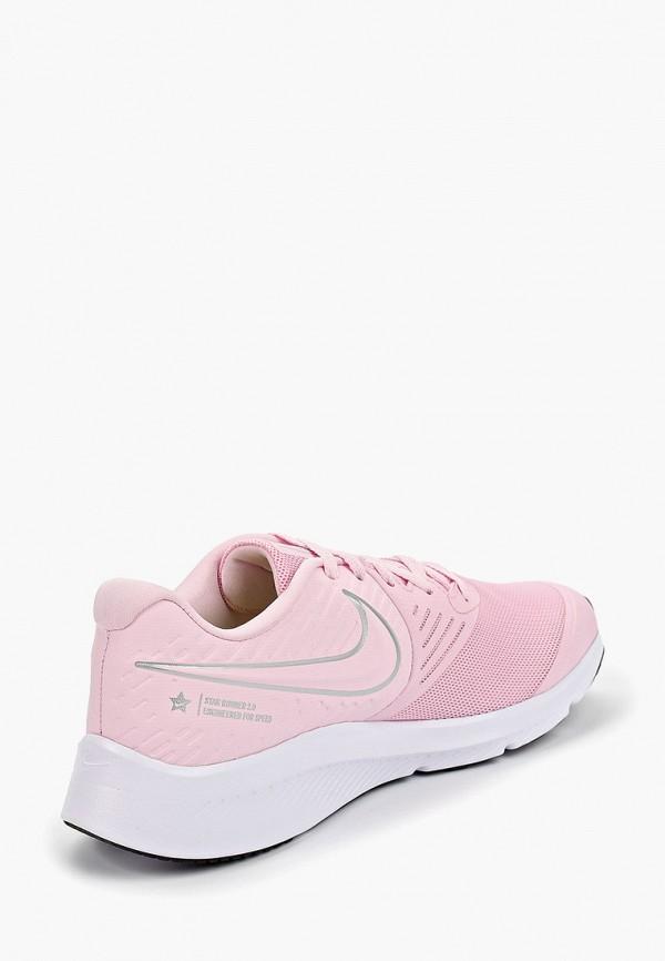 Фото 3 - Кроссовки Nike розового цвета
