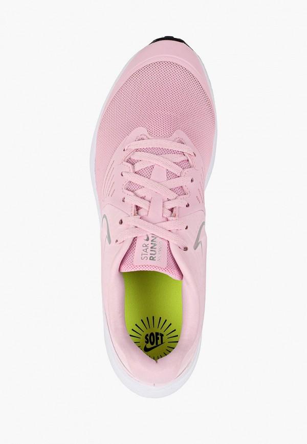 Фото 4 - Кроссовки Nike розового цвета