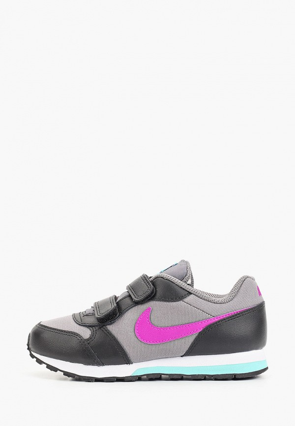 кроссовки nike для девочки, серые