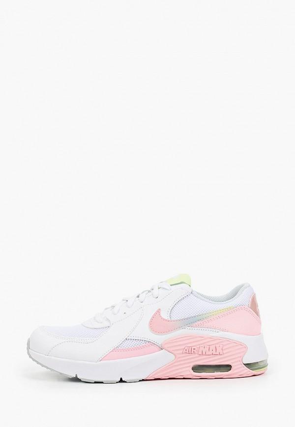 кроссовки nike для девочки, белые