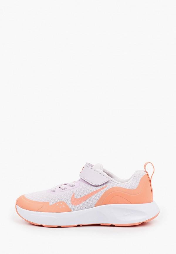 кроссовки nike для девочки, фиолетовые