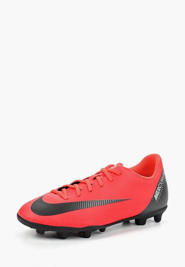 Бутсы Nike Nike NI464AKCMHE8 nike бутсы мужские nike vapor 12 club cr7 mg