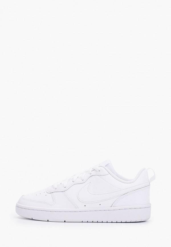 Фото - Кеды Nike белого цвета