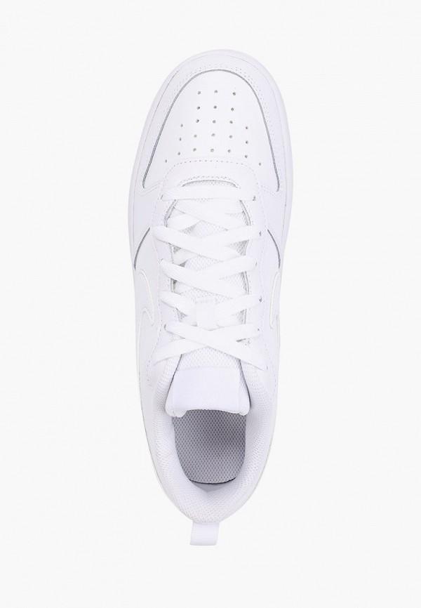 Фото 4 - Кеды Nike белого цвета