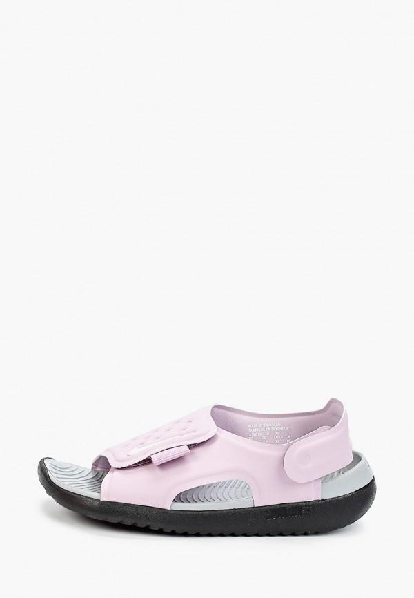 сандалии nike малыши, фиолетовые