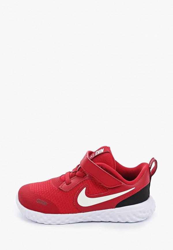 кроссовки nike малыши, красные