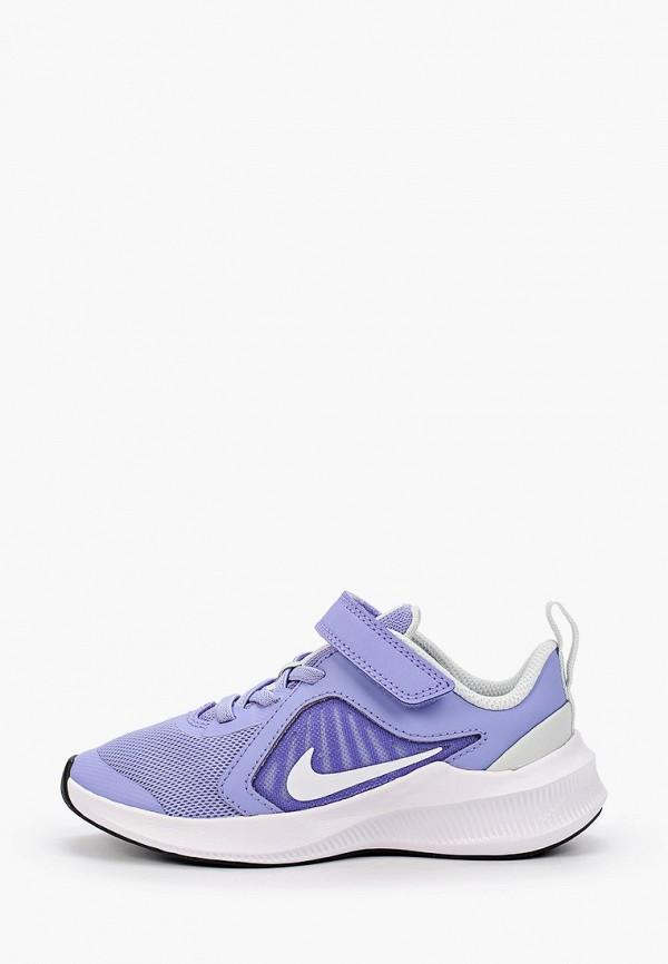 кроссовки nike малыши, фиолетовые