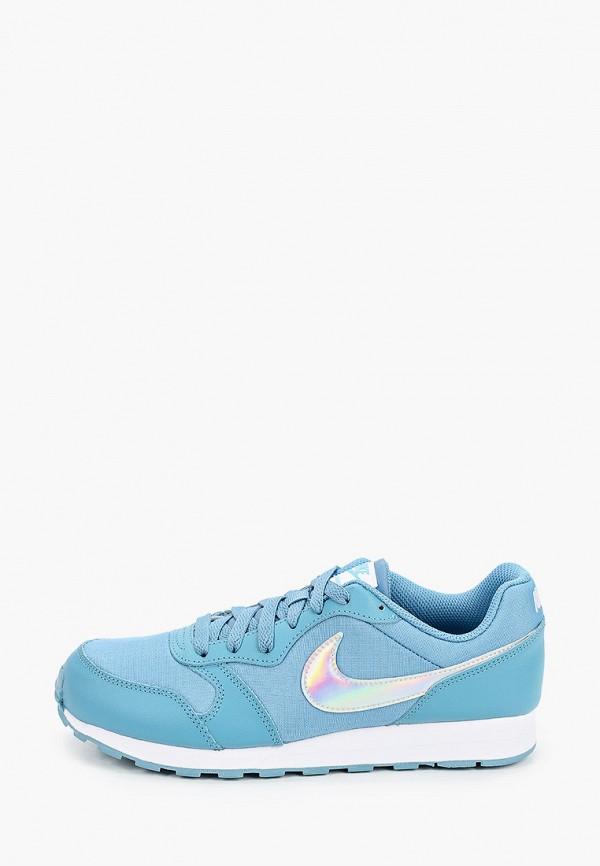 кроссовки nike малыши, голубые