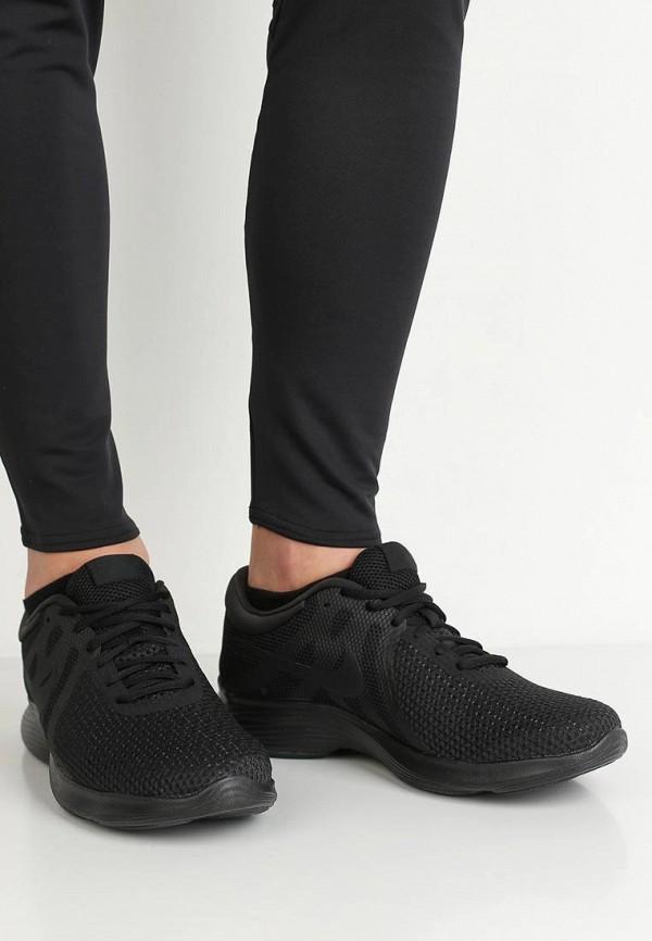 Фото 5 - мужские кроссовки Nike черного цвета