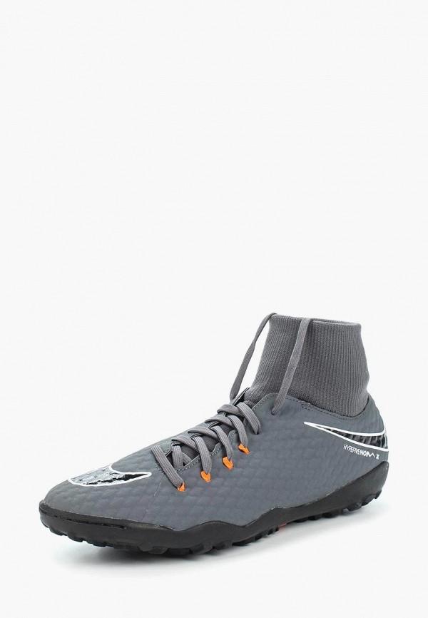 Купить Шиповки Nike, PHANTOMX 3 ACADEMY DF TF, ni464amaapg4, серый, Весна-лето 2018