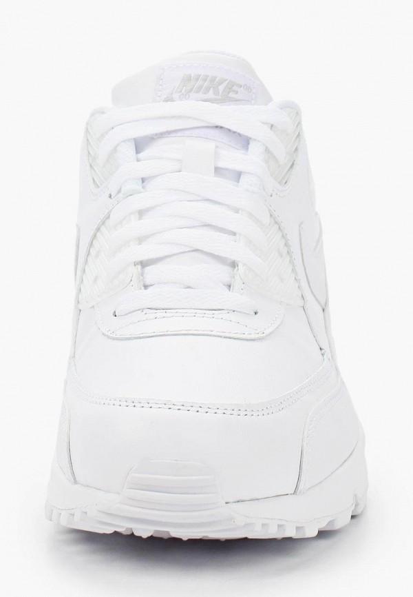 Фото 4 - мужские кроссовки Nike белого цвета