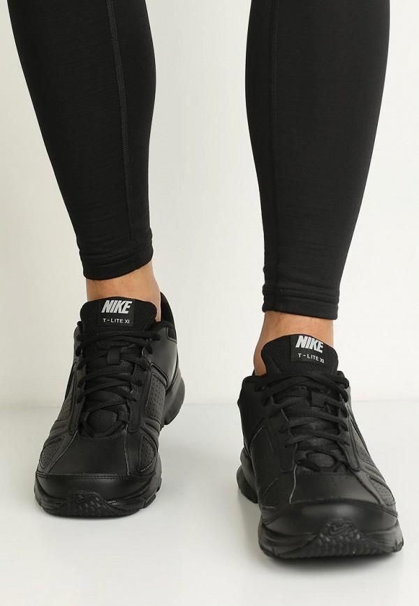 Фото 8 - мужские кроссовки Nike черного цвета