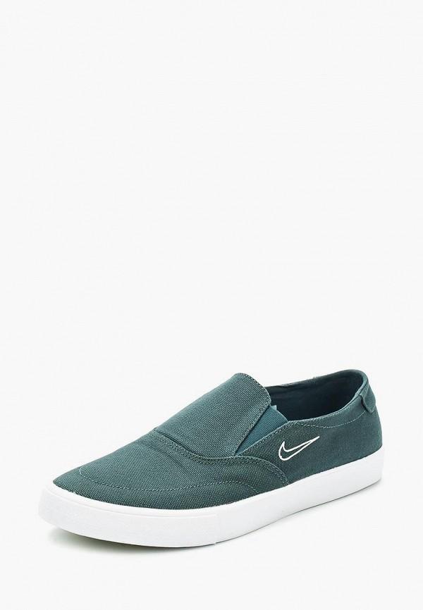 Купить Слипоны Nike, Nike SB Portmore II Solarsoft Slip Men's Skateboarding Shoe, ni464ambbnh2, зеленый, Весна-лето 2018