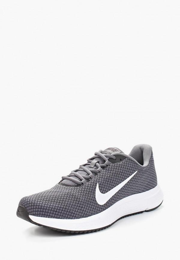 Купить мужские кроссовки Nike серого цвета