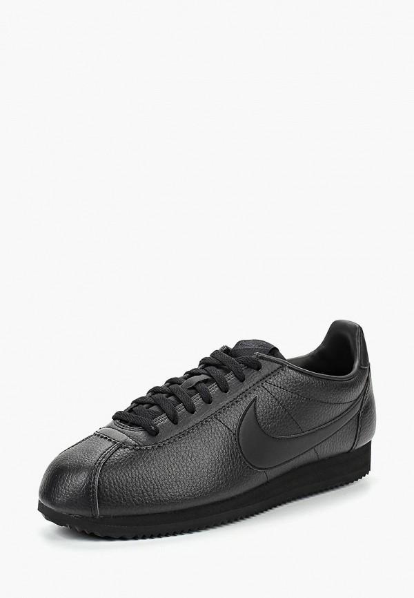 Купить Кроссовки Nike, CLASSIC CORTEZ LEATHER, NI464AMBWQL4, черный, Осень-зима 2018/2019
