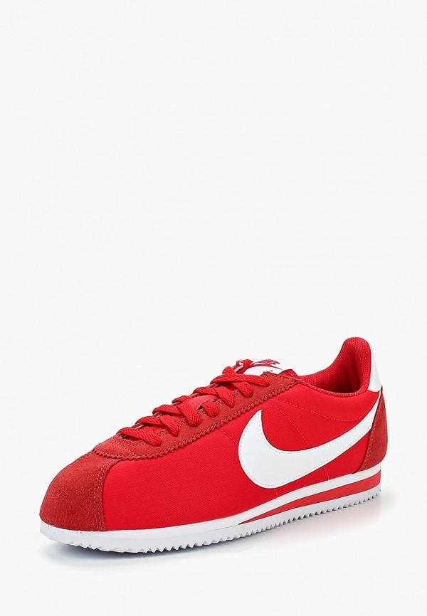 Купить Кроссовки Nike, CLASSIC CORTEZ NYLON, NI464AMBWQM0, красный, Осень-зима 2018/2019