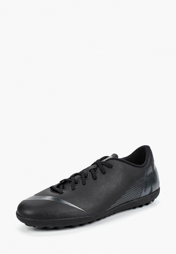 Купить Шиповки Nike, VaporX 12 Club (TF) Artificial-Turf Football Boot, ni464ambwrh6, черный, Осень-зима 2018/2019