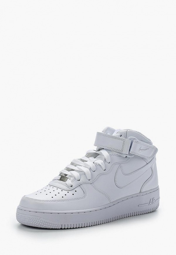 Фото - мужские кроссовки Nike белого цвета