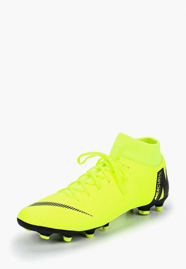 Купить Бутсы Nike, SUPERFLY 6 ACADEMY FG/MG, ni464amcmhr5, зеленый, Осень-зима 2018/2019