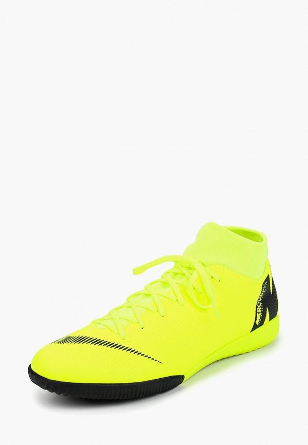 Купить Бутсы зальные Nike, SUPERFLY 6 ACADEMY IC, ni464amcmhr7, зеленый, Осень-зима 2018/2019