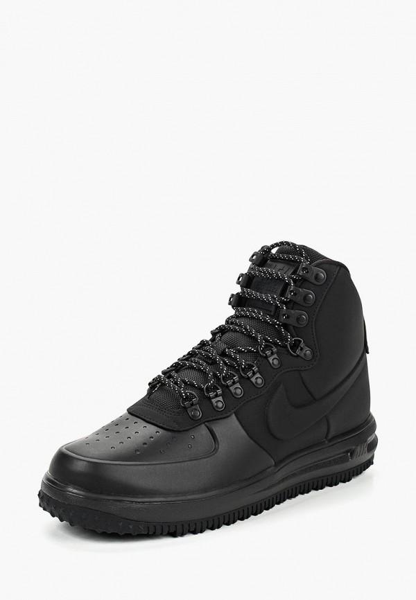 мужские ботинки nike, черные