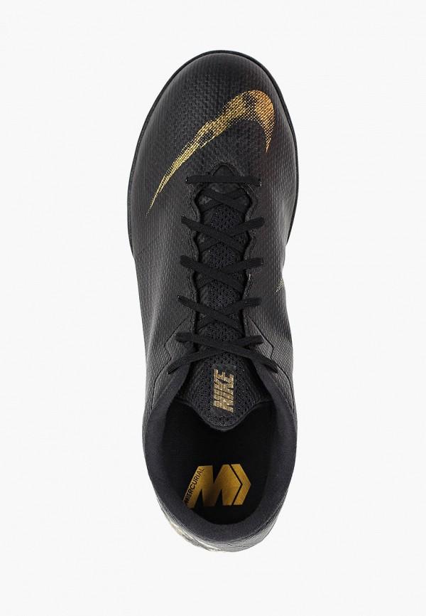 Фото 4 - Бутсы зальные Nike черного цвета