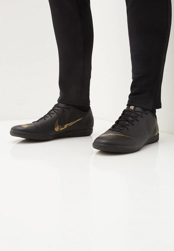 Фото 6 - Бутсы зальные Nike черного цвета