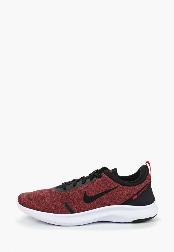Мужские бордовые кроссовки Nike