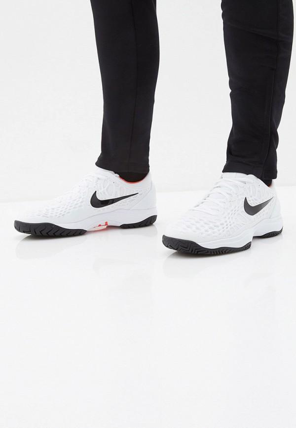 Фото 6 - мужские кроссовки Nike белого цвета