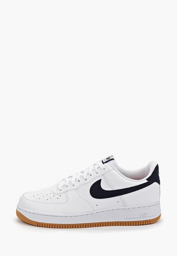 Купить мужские кеды Nike белого цвета