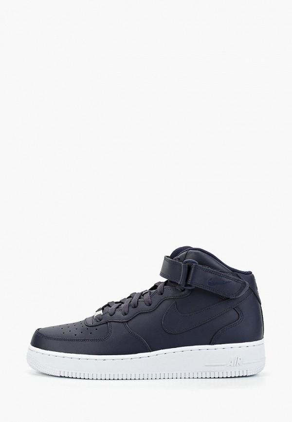 Фото - мужские кеды Nike синего цвета
