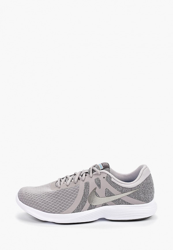 Фото - мужские кроссовки Nike бежевого цвета