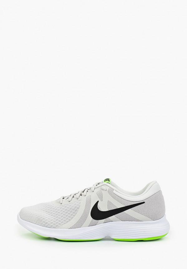 Фото 6 - мужские кроссовки Nike бежевого цвета